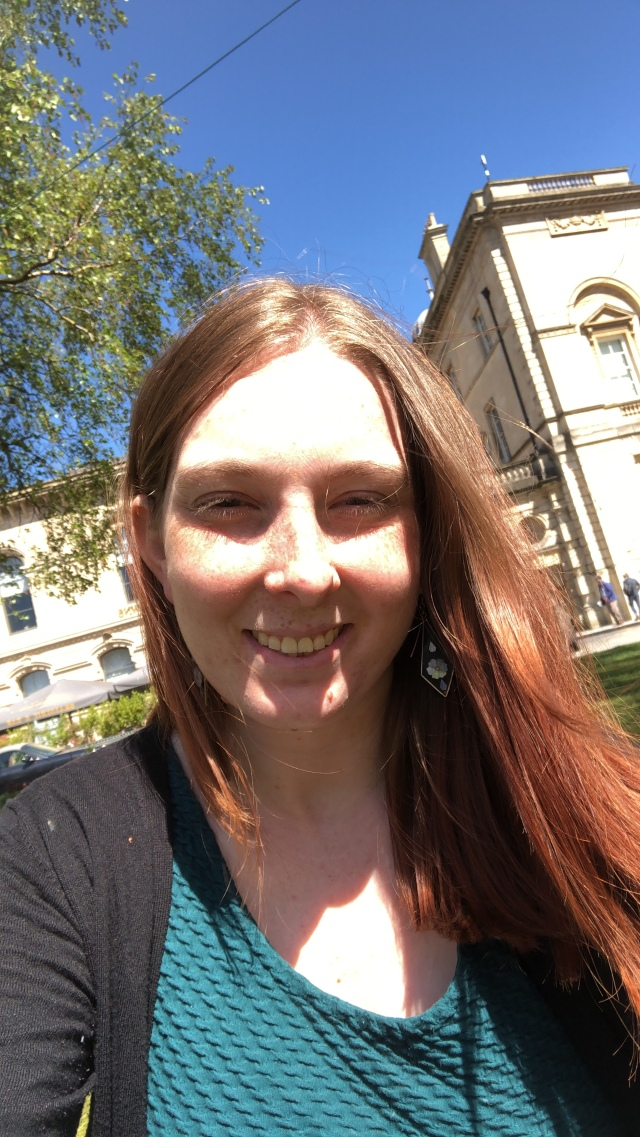 Me in the beautiful city of Bath UK bathing in the sunshine of spring